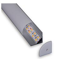 Профиль алюминиевый для ленты C006C