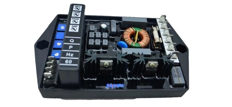 Автоматический Бесщеточный Регулятор напряжения avr M16FA655A генератор частей