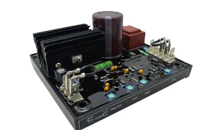 Бесщеточный генератор R438 автоматический регулятор напряжения Genset, фото 2