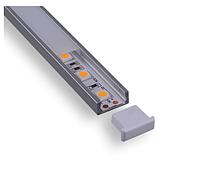 Профиль алюминиевый для ленты C007