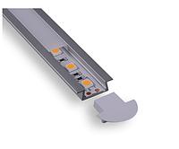 Врезной светодиодный профиль 22x6 мм C008