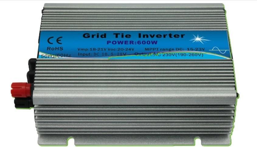 Сетки галстук солнечной энергии MPPT инвертора 600 Вт