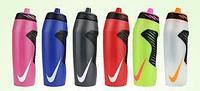 Спортивная бутылка ,фляга, шейкер для воды, протеина, вело фляга NIKE 700мл, фото 1
