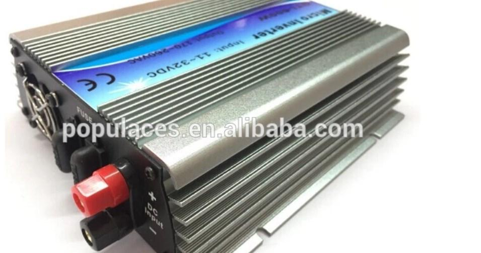 На сетке галстук солнечного инвертора 600 Вт для солнечный кондиционер