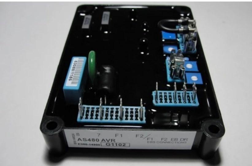 Однофазные бесщеточный генератор схема AVR AS480