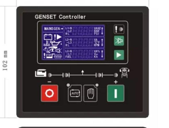 Натуральная части электронный автоматический запуск контроллера GU611A