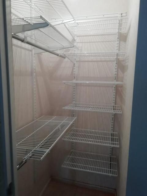 Установка ГС в гардеробной комнате 24