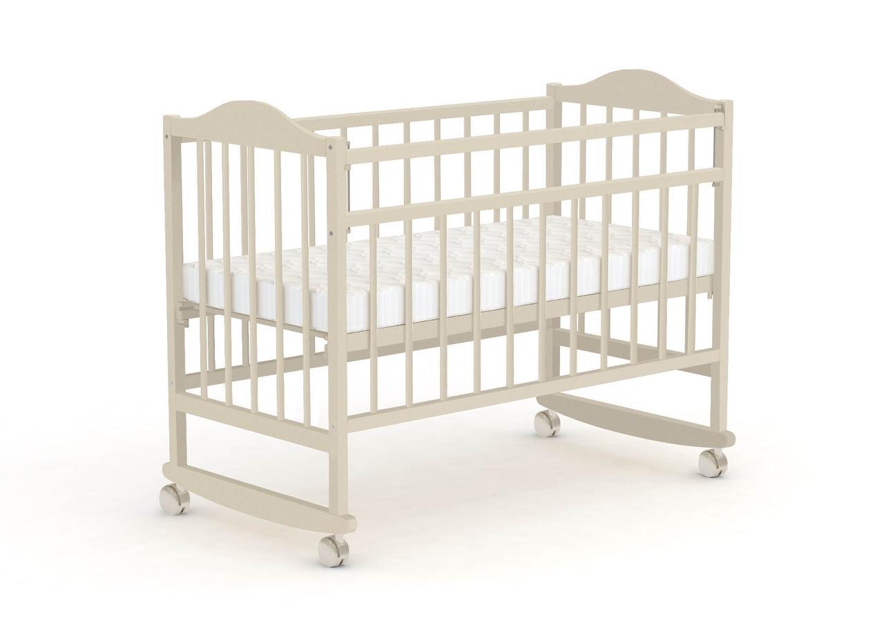 Детская кроватка Фея 204 Бежевый