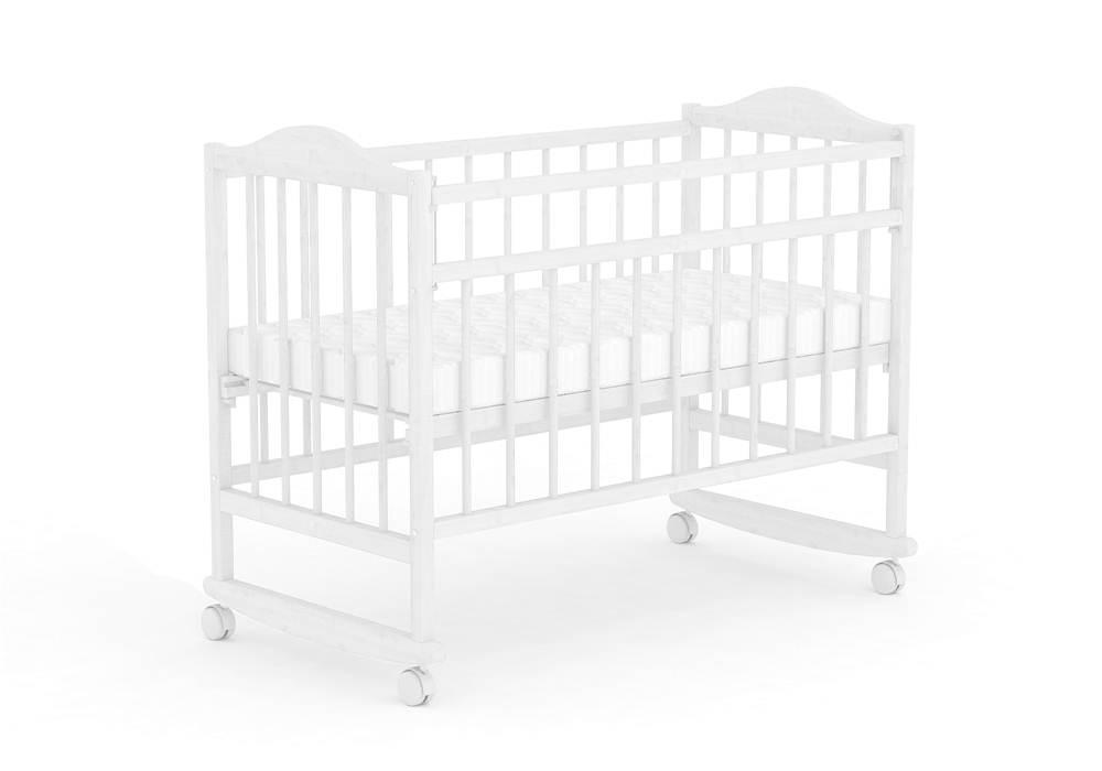 Детская кроватка Фея 204 Белый