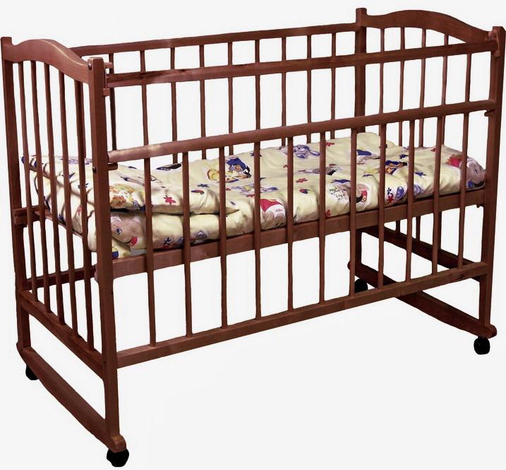 Детская кроватка Фея 204 палисандр