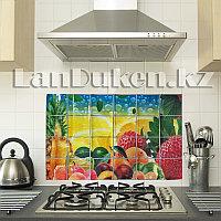 Кухонная наклейка на кафельную плитку 60x90 ягодно-фруктовый натюрморт YL-1022