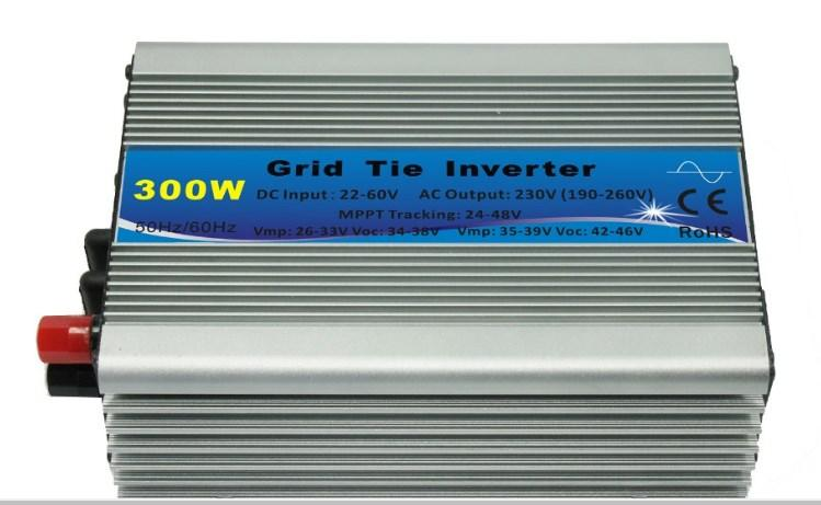 300 Вт на сетке галстук инвертора микро инвертор соединиться с солнечной панелью непосредственно
