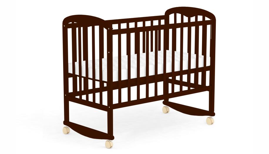 Детская кроватка Фея 323 Палисандр