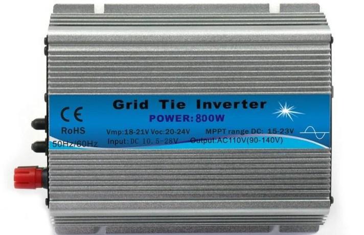 Для домашнего использования micro на сетке галстук инвертора 800 Вт для солнечной системы, фото 2