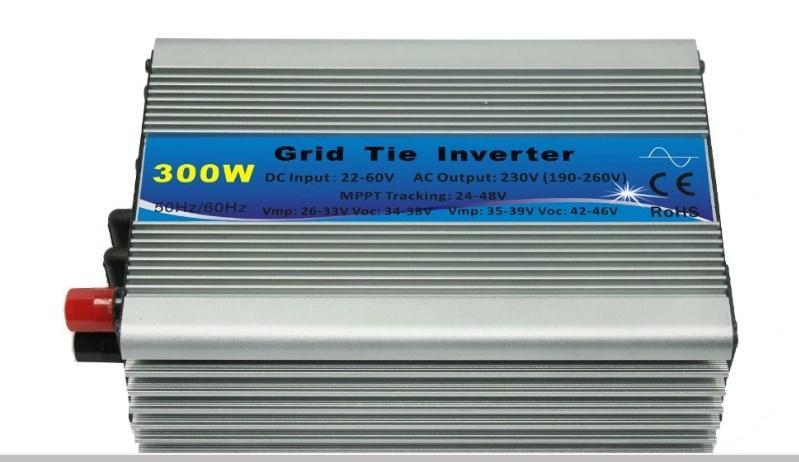 300 Вт Сетка Tie Micro Инвертор Интеллектуальный Солнечная инвертор 300 Вт