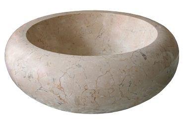 Раковина мрамор Ferox 513 Marble Cream 40*40*12
