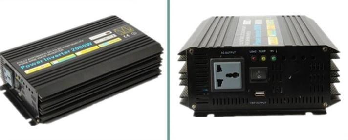 Чистый синус инвертор 2kw solar hybrid инвертор 2000 Вт DC переменный ток 2000 Вт, фото 2
