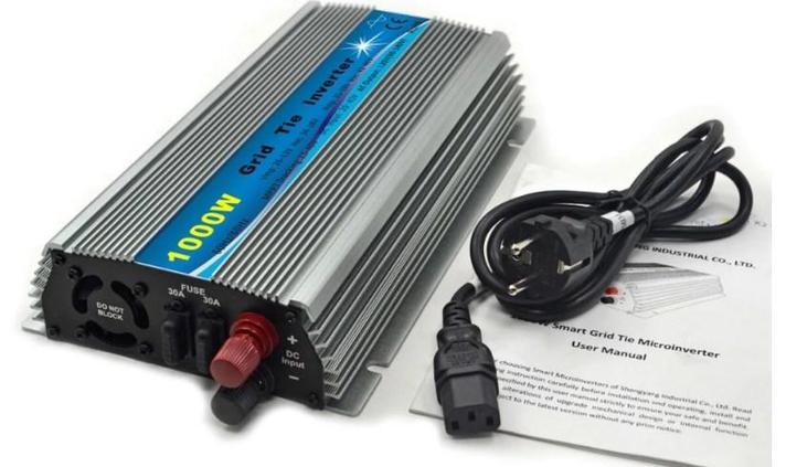 Чистая синусоида Инвертор 36 В 220 В солнечный инвертор 1000 Вт, фото 2