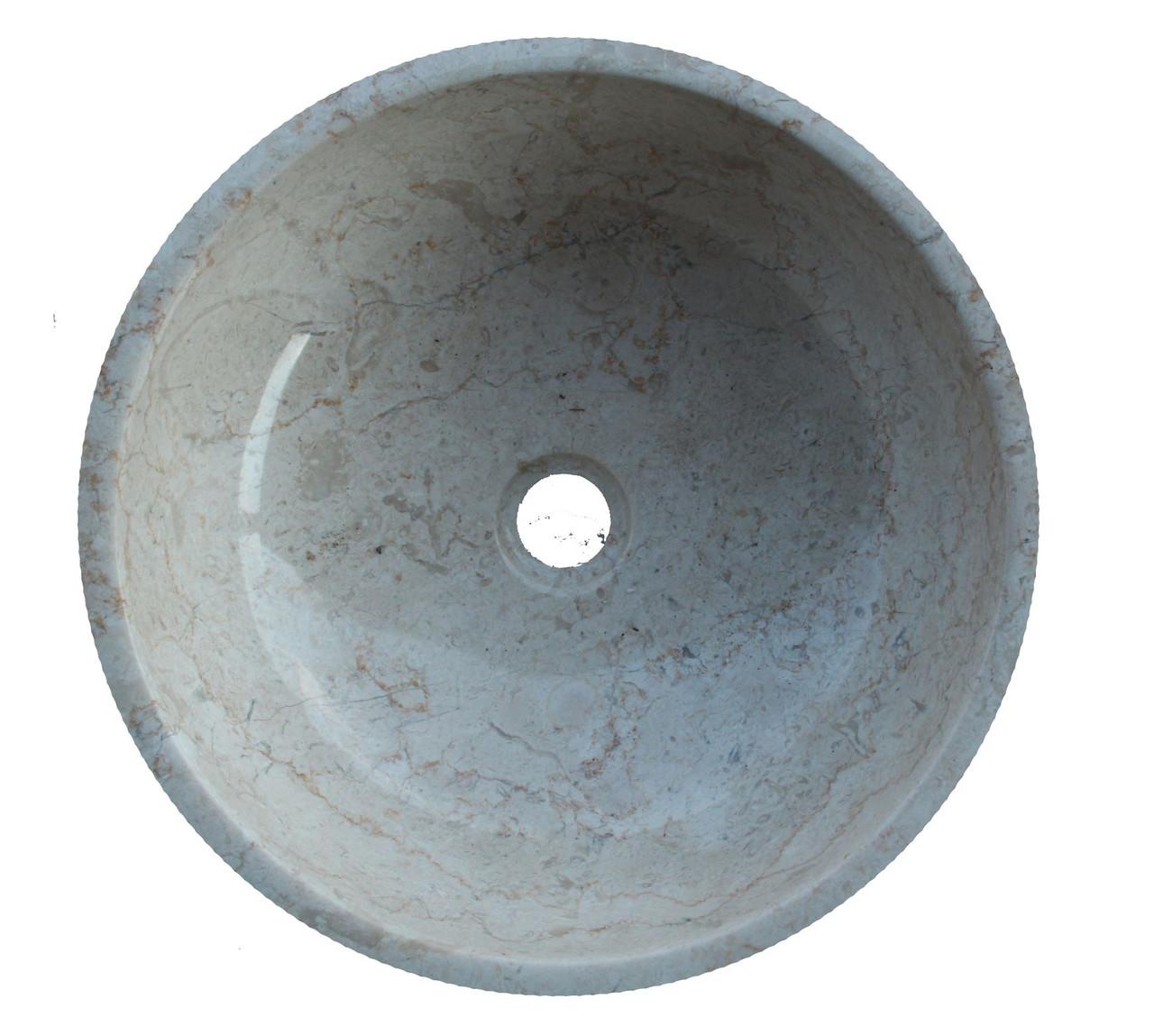 Раковина мрамор Gemma 501 Marble Cream 50*50*20