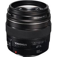 Обьектив Yongnuo YN 100 mm f/2 Canon EF, фото 1
