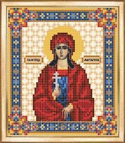 СБИ-067 Схема для вышивания бисером Икона Святая мученица Маргарита