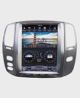 Автомагнитола (Монитор) Тесла для Toyota Land Cruiser 100 Vx
