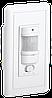 Датчик движения ДД 028 белый, макс. нагрузка 1200Вт, угол обзора 140град., дальность 9м, IP20, ИЭК