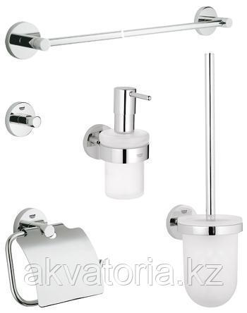 40439000 Набор держателей для туалета и ванной GroheBasic
