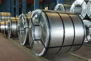 Сталь оцинкованная в рулонах 0,35мм (с полимерным покрытием), фото 2