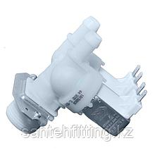 Клапан электромагнитный 2w-180 градусов, универсальный для стиральной машины