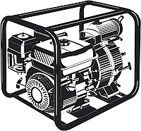 Мотопомпа бензиновая МПГ-1000-80 серия «МАСТЕР»