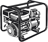 Мотопомпа бензиновая МПГ-1800-100 серия «МАСТЕР»