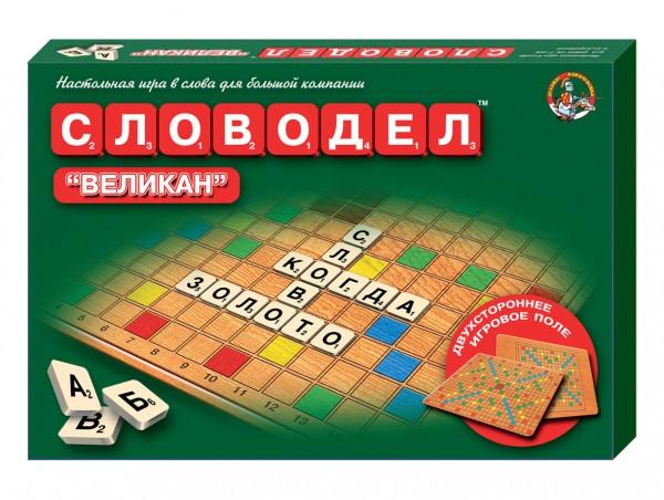 """Настольная игра """"Словодел: Великан"""""""