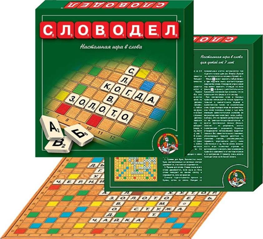 """Настольная игра """"Словодел"""" 00309"""