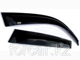 Дефлекторы окон SIM для DAEWOO GENTRA Sedan 2013-, темные, на 4 двери