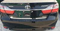 Хром накладка на багажник на Camry V55
