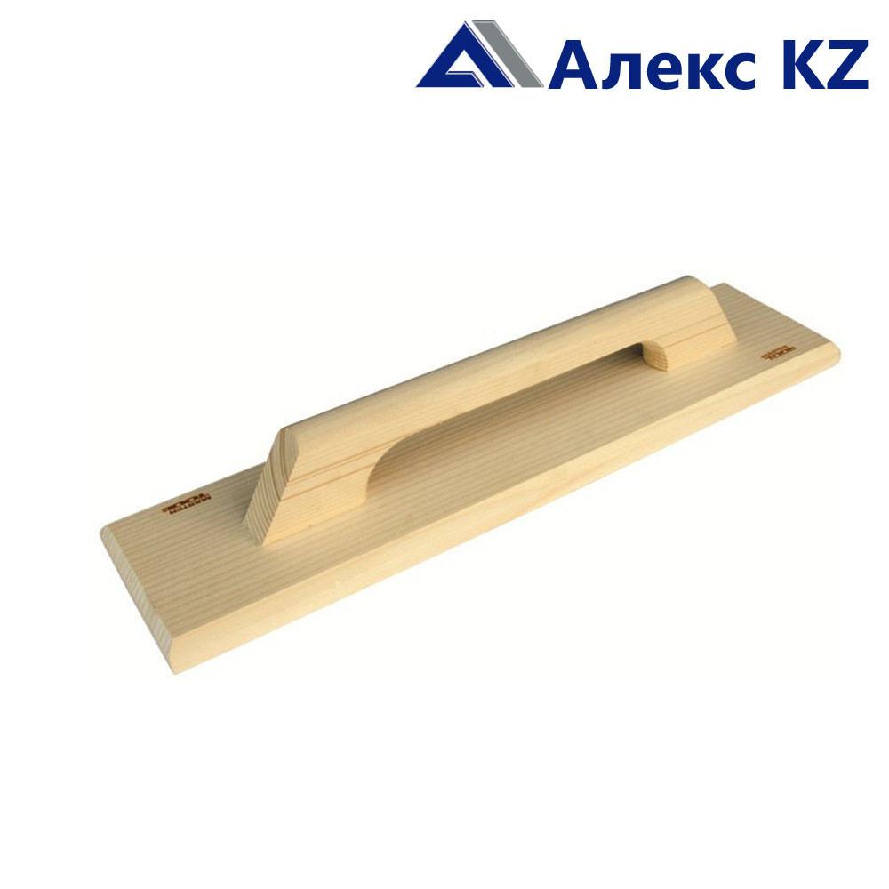 Терка деревянная 100*300 мм