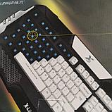 Игровая мультимедийная клавиатура с подсветкой X-LSWAB S777, фото 2