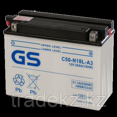 Аккумулятор GS Yuasa C50-N18L-A new, фото 2
