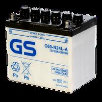 Аккумулятор GS Yuasa C60-N24L-A