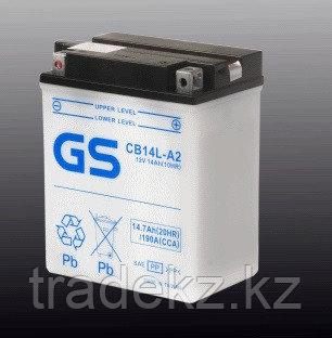Аккумулятор GS Yuasa CB14L-A2 (+acidpack, в комплекте с электролитом), фото 2