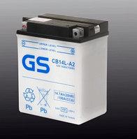 Аккумулятор GS Yuasa CB14L-A2 (+acidpack, в комплекте с электролитом)