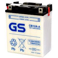 Аккумулятор GS Yuasa CB12A-A new (+acidpack, электролит в комплекте)