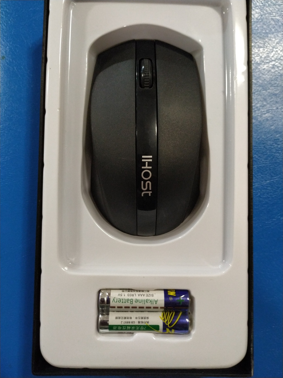 Мышка беспроводная, IHOST F2, оптическая, 1200 DPI