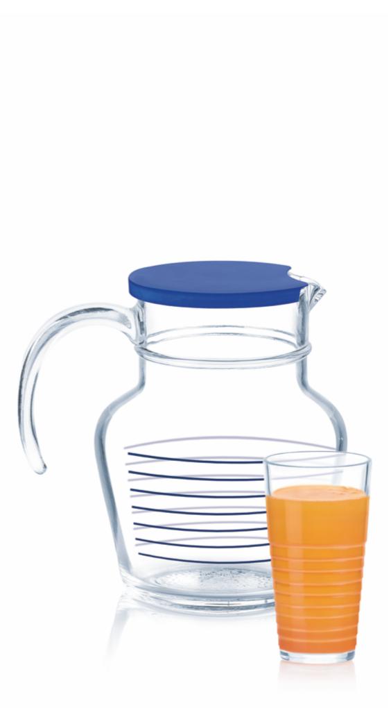Набор для напитков Luminarc Rynglit blue (7пр.)