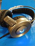 Игровые наушники XIBERIA V12 USB, с микрофоном и подсветкой 7.1,Алматы, фото 2