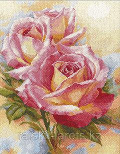 """Набор для вышивания крестиком """"Розовые мечты"""" 2-31"""