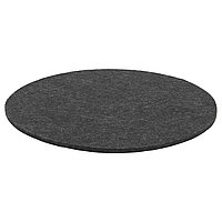 Подушка на стул ОДДБЬЁРГ серый ИКЕА, IKEA