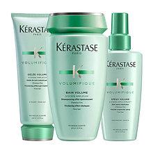Kerastase Resistance Volumifique - уплотняющий уход для создания объёма тонким волосам.