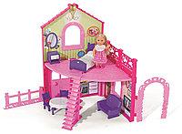 Кукла Еви в двухэтажном доме